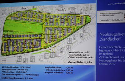 Bürgerversammlung Veitshöchheim Teil 4 - In Angriff genommene und geplante Vorhaben