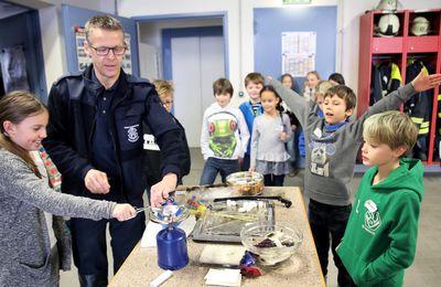 Veitshöchheimer Feuerwehr nimmt Brandschutzerziehung von Grundschülern sehr ernst