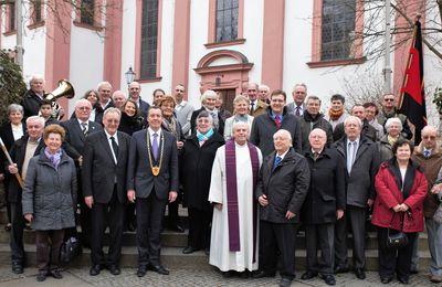 """SL-Bezirksgruppe erinnerte in Veitshöchheim zum """"Tag des Selbstbestimmungsrechts"""" an den 4. März 1919"""