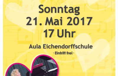 Lehrerkonzert der Musikschule Veitshöchheim am 21. Mai - Dorothea Völker nimmt Abschied
