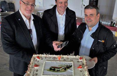 HPS HYDRAULIK UND PNEUMATIK SERVICE GMBH Parkerstore investiert im Veitshöchheimer Gewerbegebiet 3,5 Millionen Euro in Neubau -  Richtfest gefeiert