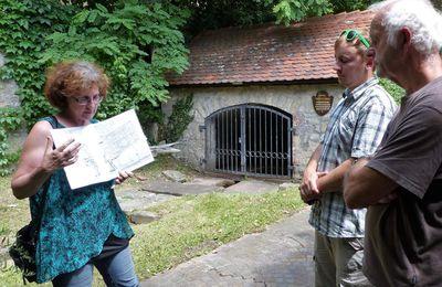 Abschlusstour beim Veitshöchheimer Stadtradeln hatte das Trinkwasser als kostbares Gut damals und heute im Ort im Visier