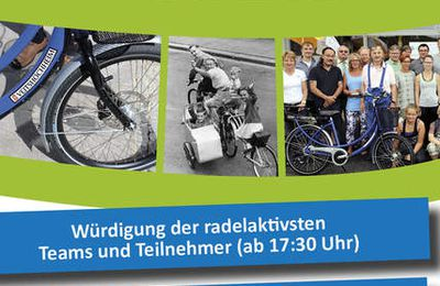 Über 30.000 Fahrrad-Kilometer: Bürgermeister würdigt am  27. Juli 2017 Veitshöchheimer Stadtradeln-Teilnehmer