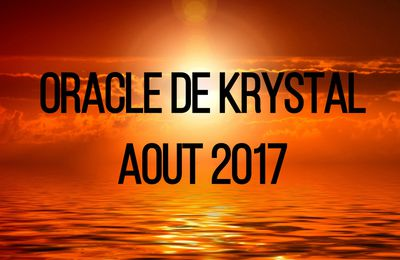Guidance Oracle de Krystal Aout 2017