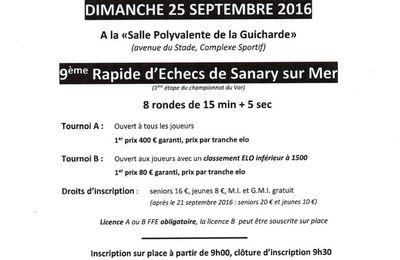 2016 - 9ème Rapide de Sanary