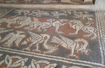 Un jour, une oeuvre (573) : Mosaïques du prieuré de Ganagobie