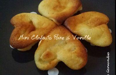 Mini Clafoutis Poire Vanille