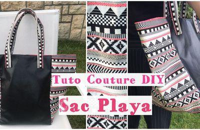 Sac Playa - Tuto Couture Vidéo - Facile