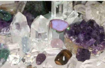 De la Lumière pour les minéraux, pour la Terre