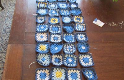 Patchwork -crochet