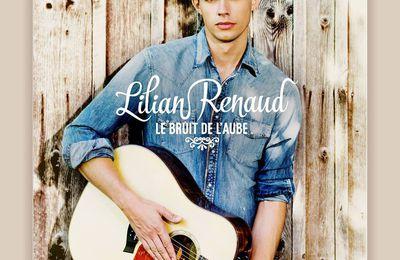 """Lilian Renaud - Le gagnant The Voice 2015 sort sont album """"le Bruit de l'Aube"""" le 13 Novembre"""