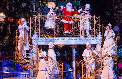 C'est déjà Noël à Disneyland Paris !