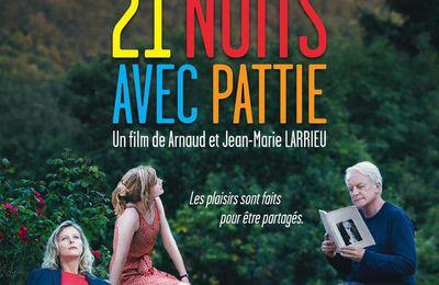 21 nuits avec Pattie - au Cinéma le 25 novembre 2015