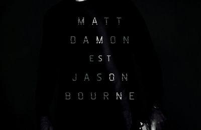 Jason Bourne 5 - Le Teaser du retour de Matt Damon #JasonBourne