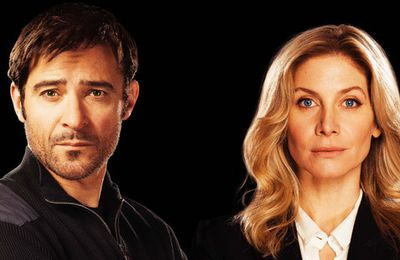 Goran Visjnic et Elizabeth Mitchell à Paris pour Crossing Lines Police sans frontière - Interviews Exclusives !!