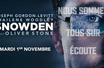 SNOWDEN  - Nous sommes tous cybersurveillés…Le Film d'Oliver Stone - #SnowdenLeFilm Le 1er Novembre au Cinéma
