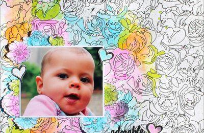 Adorable / défi combo couleurs juin / Scrap&Co