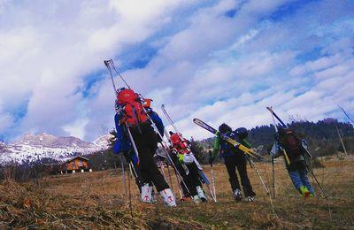 Vidéo : la tête de l'Aupet en ski de rando