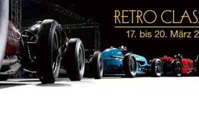 Retro Classics Stuttgart (Allemagne) : Un salon qui voit  Grand