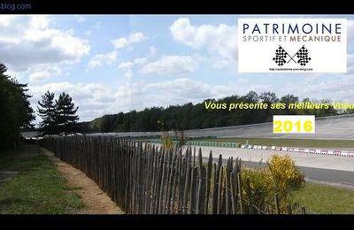 Les nouvelles du patrimoine de l'autodrome et des sports mécaniques janvier 2016