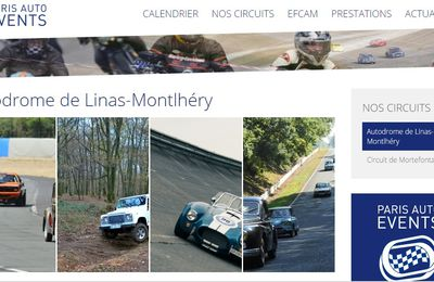 Lancement du site internet de Paris Auto Events