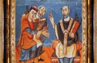 Saint Rodolphe (ou Raoul), évêque de Bourges († 866)
