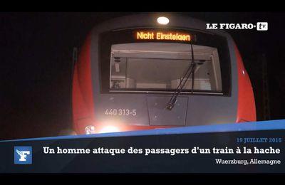 L'État islamique revendique l'attaque à la hache dans un train allemand