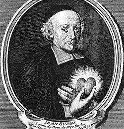 Saint Jean Eudes, fondateur de la congrégation de Jésus et de Marie (1601-1680)