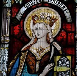 Sainte Édith, fille d'Edgar, roi des Angles, abbesse de Wilton (961-984)