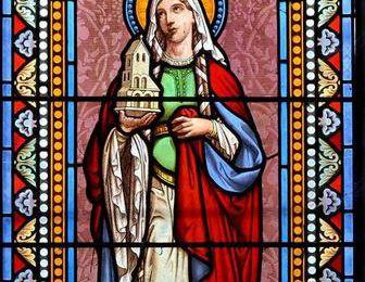 Sainte Céline (5ème s.), mère de S. Rémi