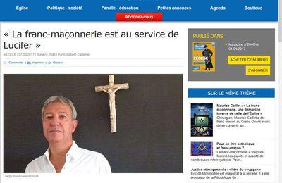 """""""La franc-maçonnerie est au service de Lucifer"""""""