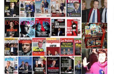 """Après avoir fait élire Macron, """"une vingtaine de médias s'inquiètent pour l'«indépendance» de la presse"""""""