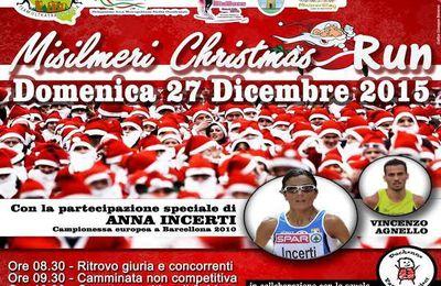 Misilmeri Christmas Run 2015 (1^ ed.). La Misilmeri Christmas Run ed il BioRace si sono ritrovati insieme di  corsa per la solidarietà