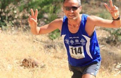 Circuito Ecotrail Sicilia 2015. Enzo Taranto campione della sua categoria: un ottimo risultato per l'ASD No al Doping e alla Droga