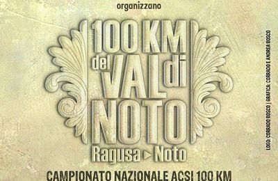 100 km della Val di Noto (1^ ed.). Nasce una nuova  100 km nel panorama delle Ultra siciliane:  si disputerà il prossimo 4 novembre.