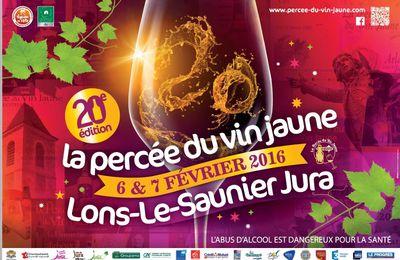 La Percée du Vin Jaune 2016 à Lons-le-Saunier