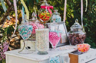 candy bar champêtre: 11 façons de présenter un cand bar