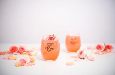Décoration de mariage rosé doré