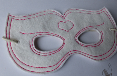 Masque super princesse