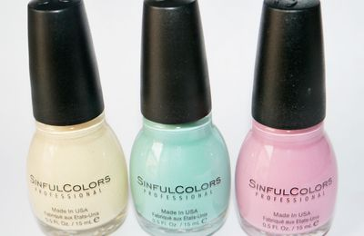 SinfulColors printemps 2015
