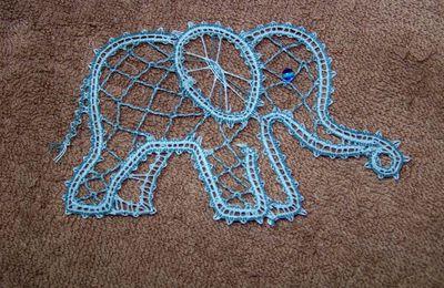 Un petit éléphant....