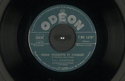 Pour Pierrette et Pierrot - Yves Montand
