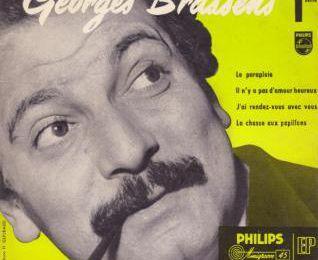 Le parapluie - Georges Brassens