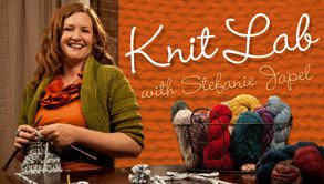 Apprendre à tricoter avec Craftsy: Knit Lab with Stefanie Japel