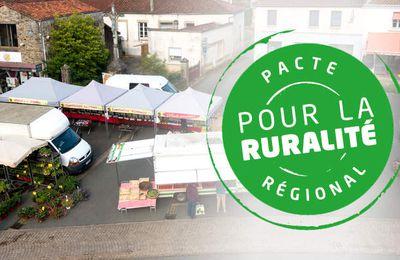 Le pacte régional pour la ruralité: un bouclier contre la fracture territoriale