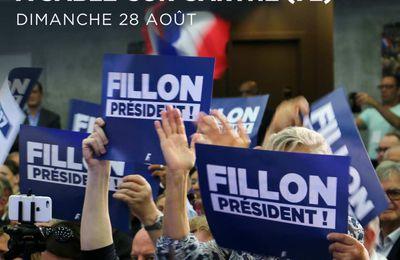 Tous à Sablé le dimanche 28 août avec François Fillon !