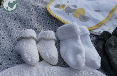 chaussons chaussettes pour nouveau-né
