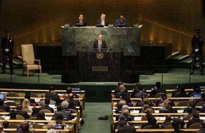 SYRIE : L'HISTOIRE EN DIRECT A LA TRIBUNE DE L'ONU
