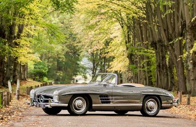 VOITURES DE LEGENDE (687) : MERCEDES-BENZ  300 SL ROADSTER - 1957