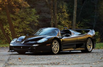 VOITURES DE LEGENDE (694) : FERRARI  F50 - 1995